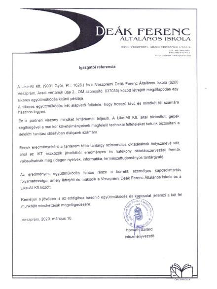 Deák Ferenc Általános Iskola